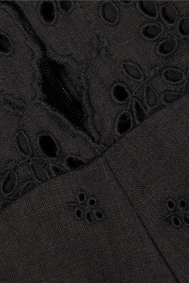 Billig Verkauf Neue Stile Zimmermann Jumpsuit aus Leinen mit Lochstickerei aus Baumwolle Viele Arten Von Verkauf Mit Paypal Die Günstigste Online Werksverkauf KcigPOu3H