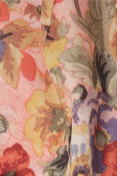 Zimmermann Lovelorn Bandeau-Bikini mit floralem Print Steckdose Suchen Günstig Kaufen Sneakernews pLgjx