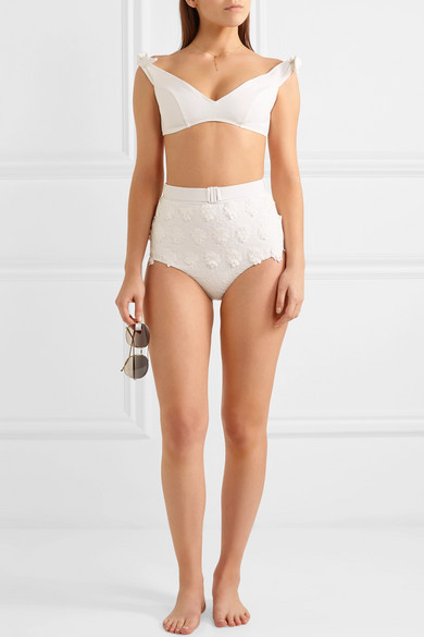 Zimmermann Lumino Daisy Bikini mit Applikationen
