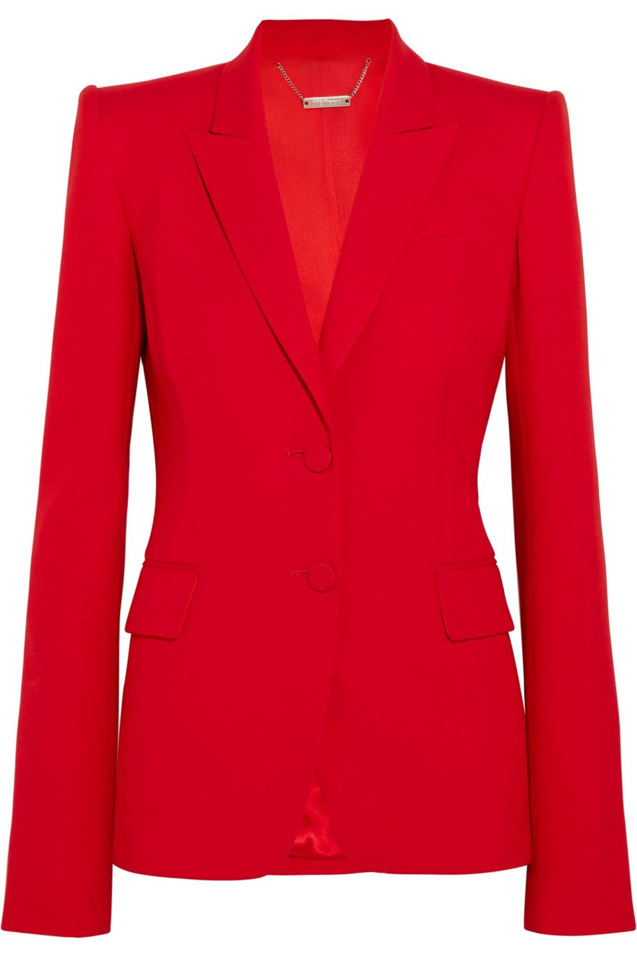 Alexander McQueen Wool-blend blazer
