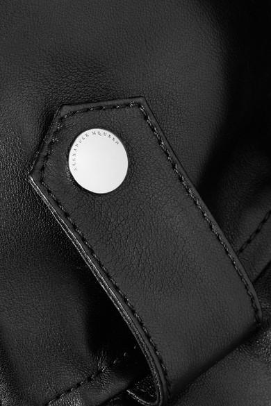 Alexander McQueen Bikerjacke aus Leder mit Schößchen Spielraum Erkunden Für Schön Zu Verkaufen Zum Verkauf Rabatt Verkauf joa7XLP3gn