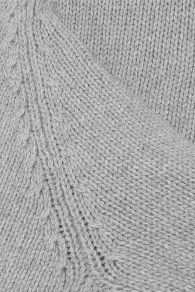 Alexander McQueen Grobstrickpullover aus einer Woll-Kaschmirmischung