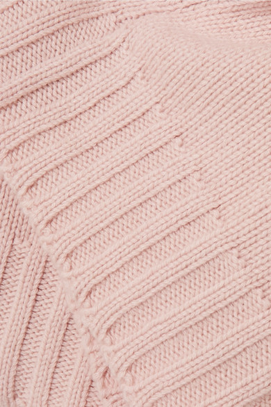 Alexander McQueen Oversized-Pullover aus einer Kaschmir-Wollmischung
