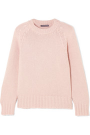 Alexander McQueen Oversized cashmere and wool-blend sweater