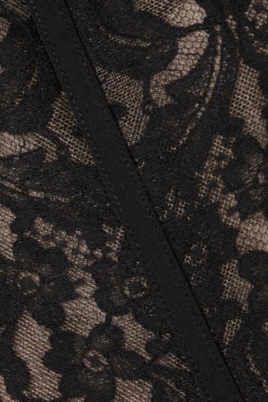 Alexander McQueen Sarabande Bustier-Oberteil aus Spitze aus einer Baumwollmischung