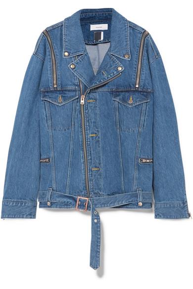Facetasm Dekonstruierte Oversized-Jeansjacke