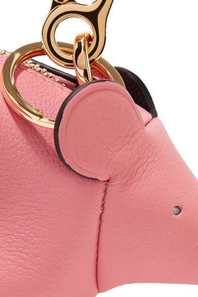 Loewe Mouse Taschenanhänger aus Leder