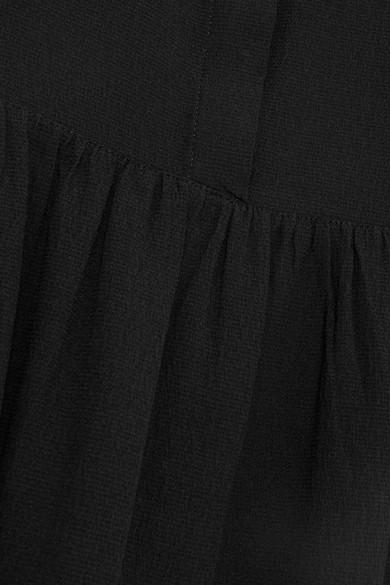 Vanessa Seward Fiona Minikleid aus Seiden-Crêpe mit Schluppe