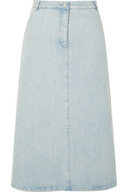 Faith denim midi skirt