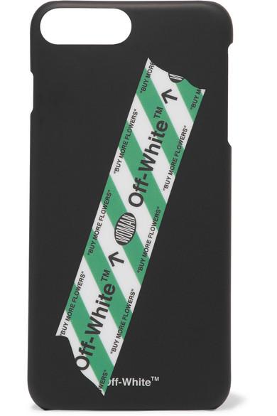 Off-White - Printed Plastic Iphone 7 Plus Case - Black