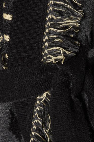 Steckdose Kostengünstig Alanui Cardigan aus Jacquard-Strick aus Kaschmir mit Fransen Billigster Günstiger Preis Freies Verschiffen Versorgung Rabatt Geringe Versandgebühr OYGvxsav