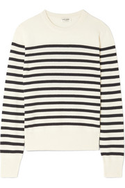 Marino striped cashmere sweater