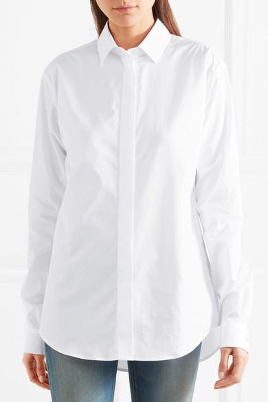 Saint Laurent Hemd aus Baumwollpopeline