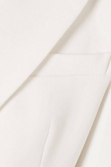 Pierre Balmain Doppelreihiger Blazer aus Twill aus einer Baumwollmischung