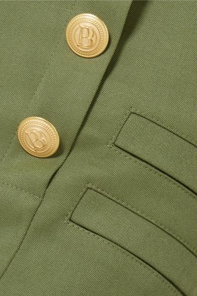 Pierre Balmain Shorts aus Grain de Poudre aus Wolle