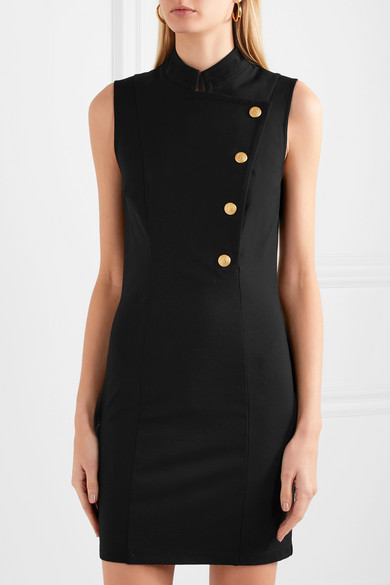 Pierre Balmain Minikleid aus Stretch-Cady
