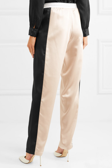 Cook Sweatpants From Satin With Stripes