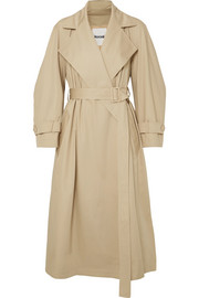 Koché Cotton-gabardine trench coat