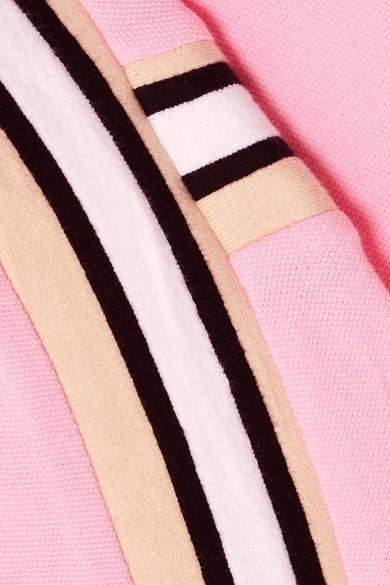 Koché T-Shirt aus Baumwoll-Piqué mit Streifen