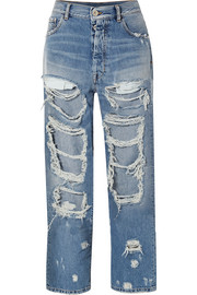 Unravel Project Distressed oversized jeans