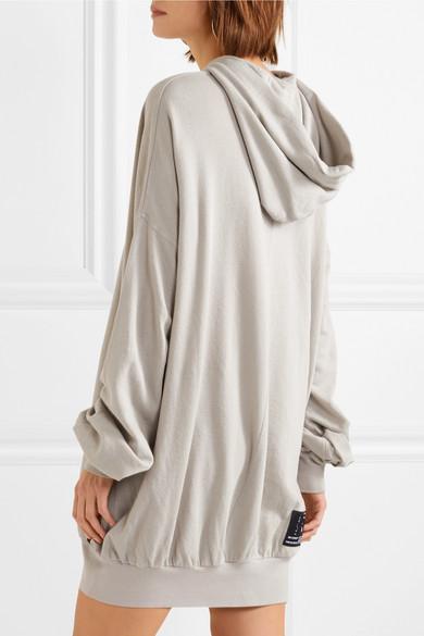 100% Ig Garantiert Günstig Online Große Überraschung Verkauf Online Unravel Project Terry Minikleid aus einer Baumwoll-Kaschmirmischung Spielraum In Mode z5mjf