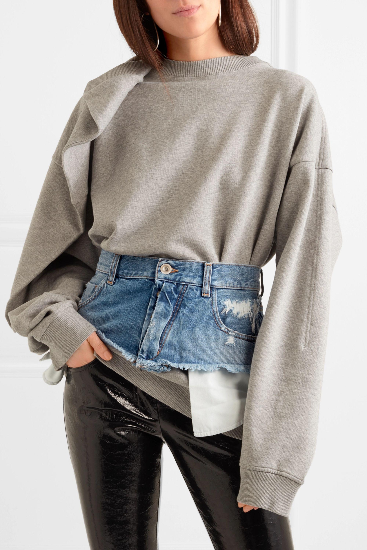 Unravel Project Denim waist belt