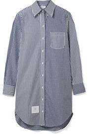 Thom Browne Oversized cotton-poplin shirt dress