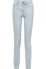 Saint Laurent Mid-rise slim-leg jeans