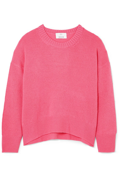 Allude - Cashmere Sweater - Pink