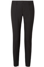 Saint Laurent Pantalon slim en serge de laine