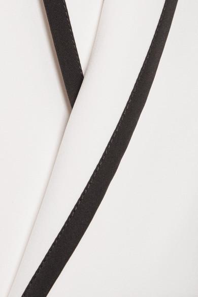 La Ligne Le Tuxedo Jacke aus Crêpe in Wickeloptik