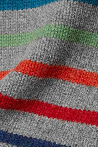 La Ligne Marin Pullover aus einer Woll-Kaschmirmischung mit Streifen
