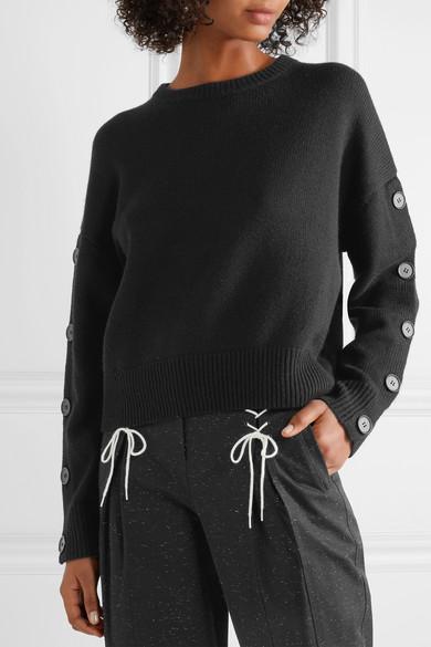 Nili Lotan Martina verzierter Pullover aus einer Woll-Kaschmirmischung