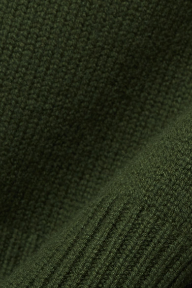 Nili Lotan Serinda Rollkragenpullover aus einer Woll-Kaschmirmischung