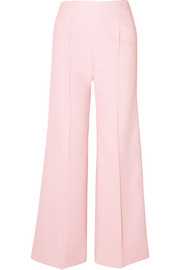 Emilia Wickstead Hullinie crepe wide-leg pants