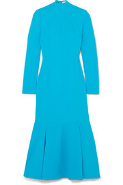 Emilia Wickstead Prudence cloqué turtleneck midi dress