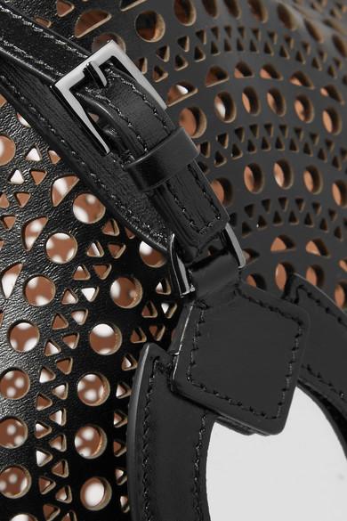 Sast Zum Verkauf Neue Und Mode Alaïa Beuteltasche aus lasergeschnittenem Leder Billig Store SVrF1Eb