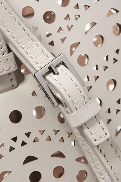 Alaïa Tote aus lasergeschnittenem Leder