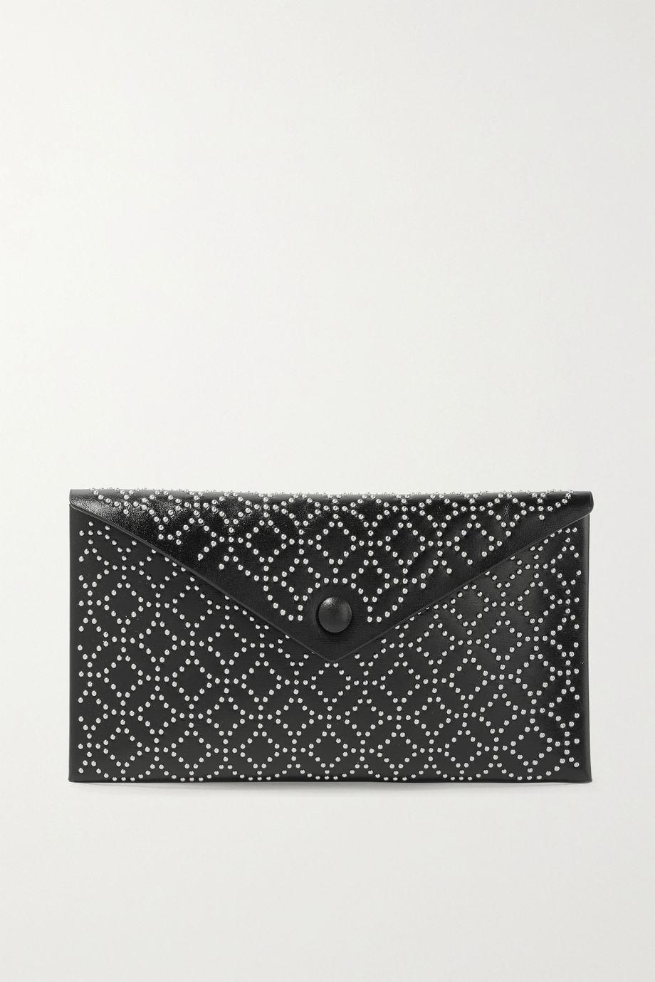 Alaïa Studded leather pouch