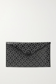 Alaïa Studded leather pouch
