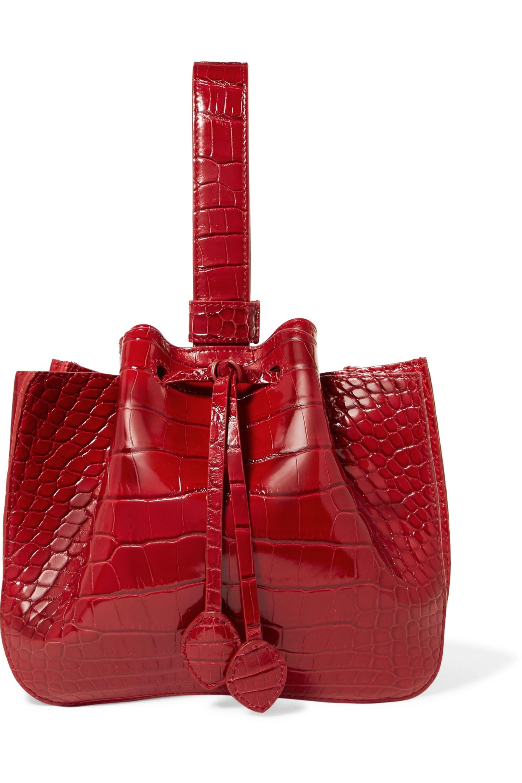 Alaïa Alligator bucket bag