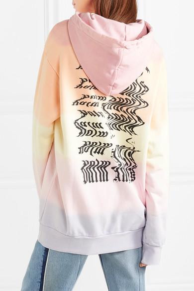 Veste À Capuche En Jersey De Coton Imprimée Palm Anges