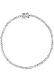 Hepburn 18-karat white gold diamond bracelet