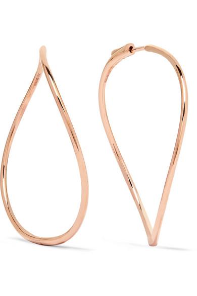 Anita Ko - 18-karat Rose Gold Earrings