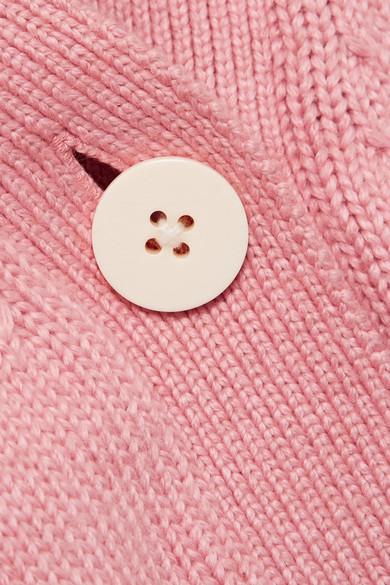 ADEAM Cardigan aus einer Baumwollmischung mit Bindedetails Steckdose Online Spielraum Eastbay Discount Versandkosten Frei  Wie Viel Freies Verschiffen Klassische OBZmzv8