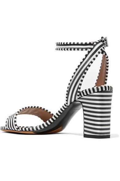 Tabitha Simmons Leticia gestreifte Sandalen aus Canvas Aus Deutschland Schnelle Lieferung Günstig Online Online-Shop Neue Stile Günstig Online paQIG7M