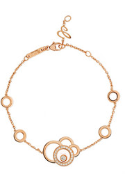 Happy Dreams 18-karat rose gold diamond bracelet