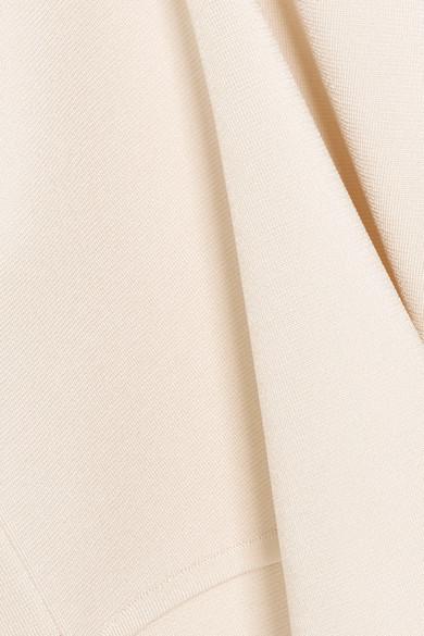 CASASOLA Body aus Stretch-Strick mit asymmetrischer Schulterpartie