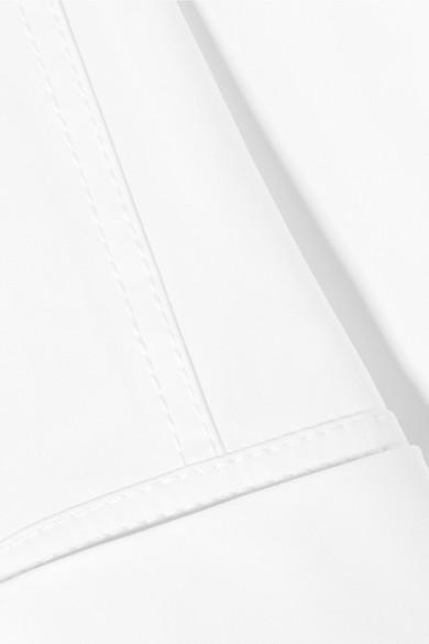 CASASOLA Midikleid aus Baumwollpopeline mit Gürtel