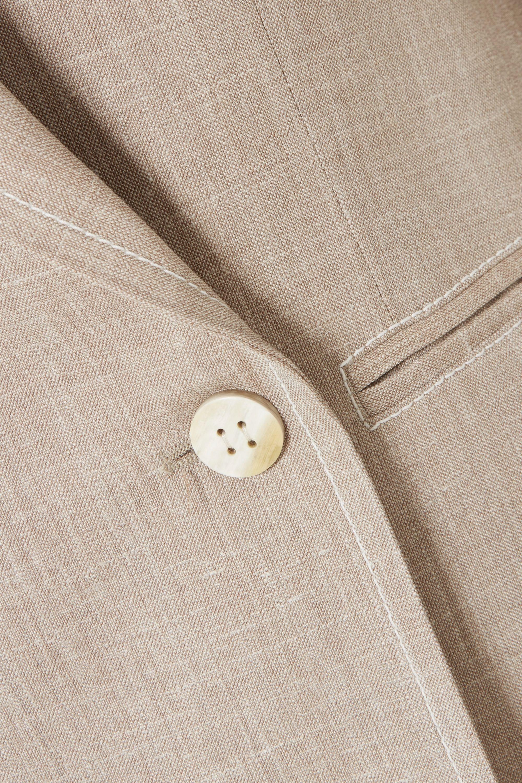 CASASOLA Blazer à double boutonnage en laine mélangée